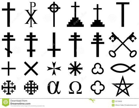 imagenes simbolos religiosos s 237 mbolos religiosos cristianos stock de ilustraci 243 n