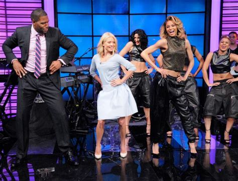 live with kelly michael this week in chic solange knowles fabolous ciara and