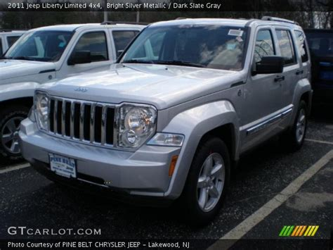 2011 jeep liberty limited bright silver metallic 2011 jeep liberty limited 4x4