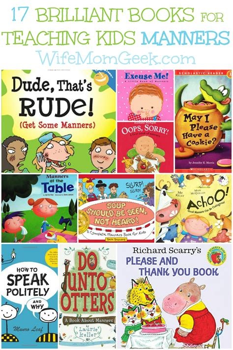 teaching picture books 17 brilliant books for teaching manners