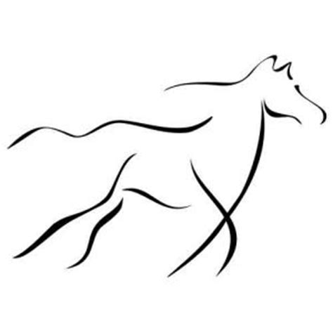 Folienaufkleber Pferd by Auto Aufkleber Tribal Autoaufkleber Wandtattoo