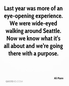 Quotes About Eye Opening Experiences