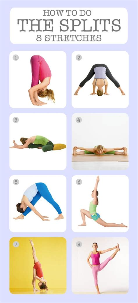 how to do the splits 8 stretches to get you there i