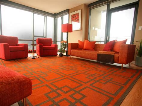 red and orange living room 25 red living room designs decorating ideas design