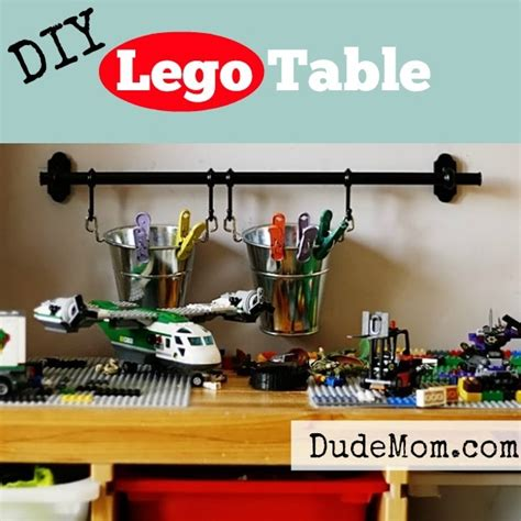 how to make a lego bench awesomeness diy lego table redux stuff moms like dude mom