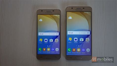 Samsung J5 J7 Prime Samsung Galaxy J5 Prime And J7 Prime Impressions Stylish Design Decent Specs 91mobiles