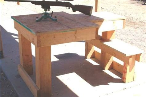 build shooting bench work home guide to get wood shooting shooting bench
