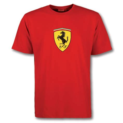 T Shirt Ferari t shirt with large shield fp9119