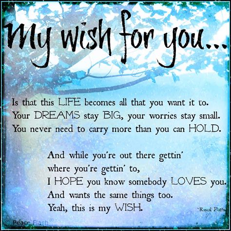 i wish for you quotes quotesgram