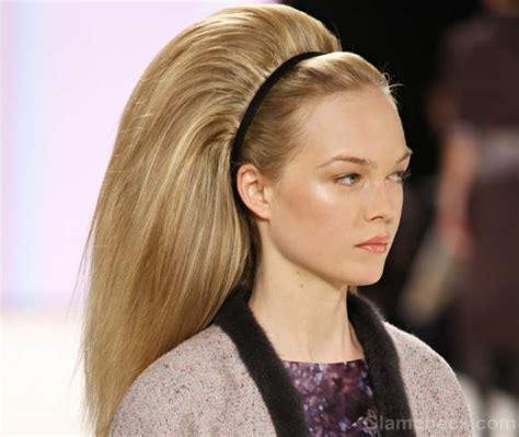 how to do sixties hairstyles carolina herrera fall winter 2012 subtle makeup