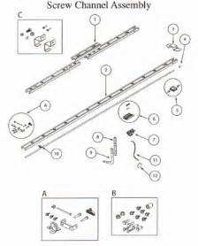 Overhead Garage Door Replacement Parts Overhead Door Compatible Garage Door Opener Parts Trilog Repair Parts