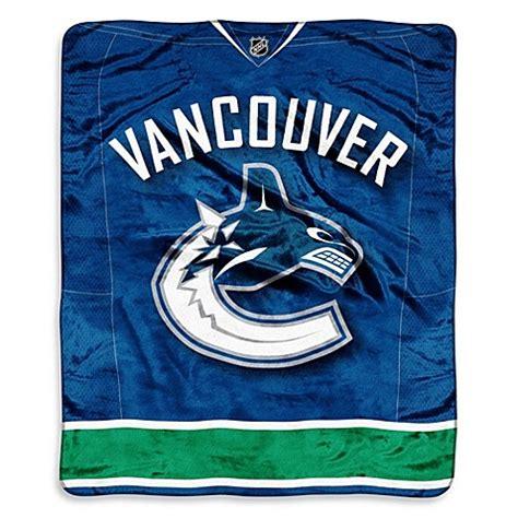 Where To Throw Furniture Vancouver - nhl vancouver canucks plush raschel throw blanket