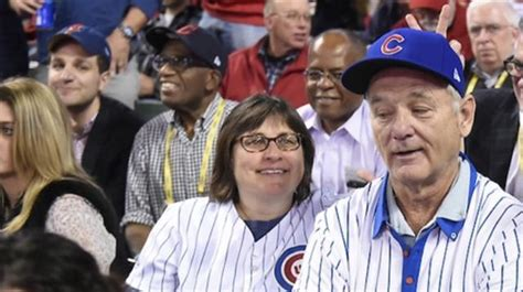 bill murray fan bill murray gave a random cubs fan a ticket to 6 and