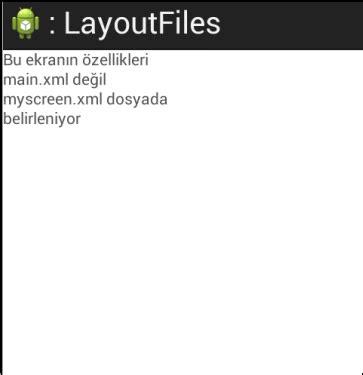android yeni layout ekleme android programlama ders 4 layout dosya xml kodlama ve