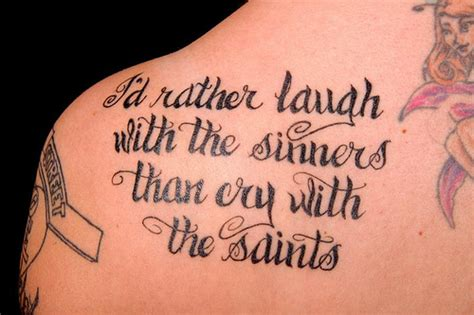 tattoo lyrics video image gallery lyric tattoos