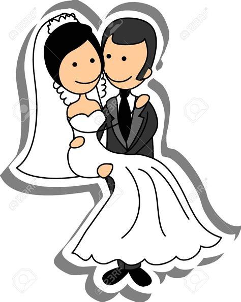matrimonio clipart dibujos de novios boda seonegativo
