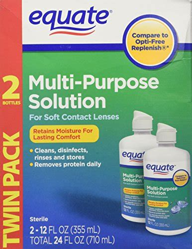 Multi Purpose Solution equate multi purpose contact lenses solution 2 pack 12 oz each fitness tracker fitness
