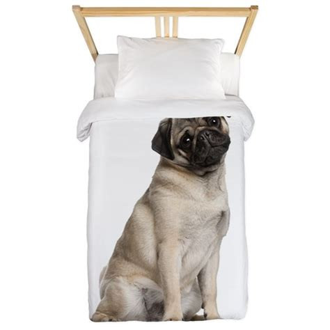 pug bed sheets pug twin duvet by admin cp3075420