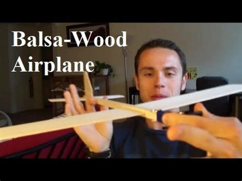 super balsa wood plane youtube