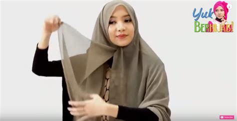 tutorial hijab paris buat lebaran tutorial hijab paris segi empat spesial quot idul fitri