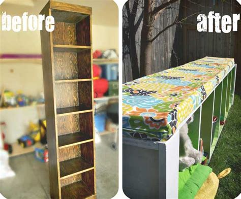 23 money saving ways to repurpose and reuse bookcases
