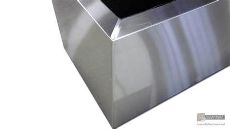 Rectangular stainless steel planter #4 custom made to order