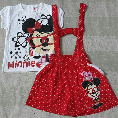 Bibs Bayi Hari Hari Murah Lucu jual baju setelan celana kaos overall anak bayi perempuan