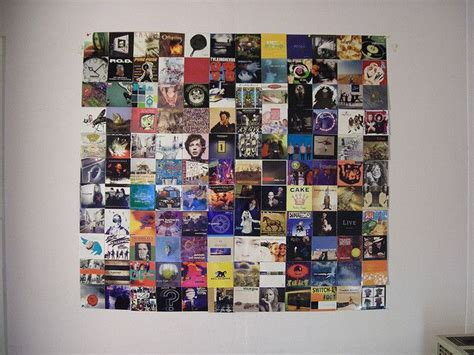 Great Idea For Cheap Wall Album Covers In Ideas For Hanging Photos On The Wall On The Walls Or