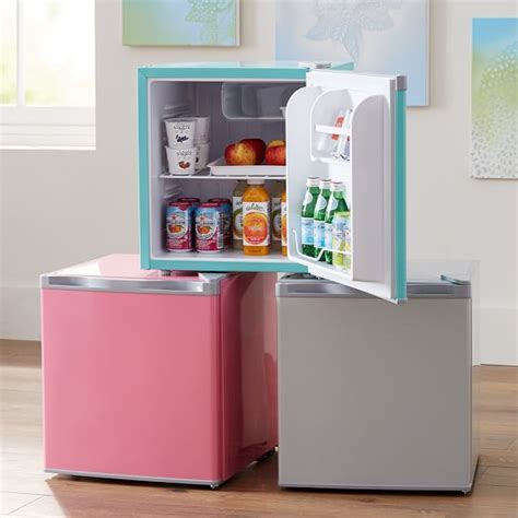 mini fridge pbteen