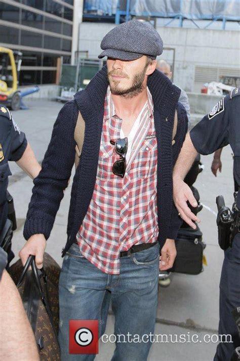 Beckham His Friends Travel by David Beckham David Beckham Carrying His Louis Vuitton