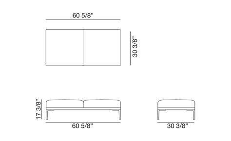 barcelona bench dimensions 100 barcelona bench dimensions home design