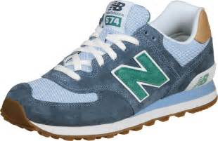 new balance ml574 shoes blue