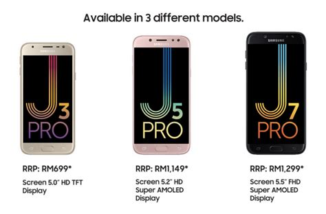 Samsung J3 Pro J5 Pro J7 Pro Samsung S J3 Pro J5 Pro And J7 Pro Smartphones Launched