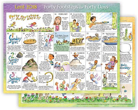 the sanctuary for lent 2018 pkg of 10 books 2018 lent calendar for children