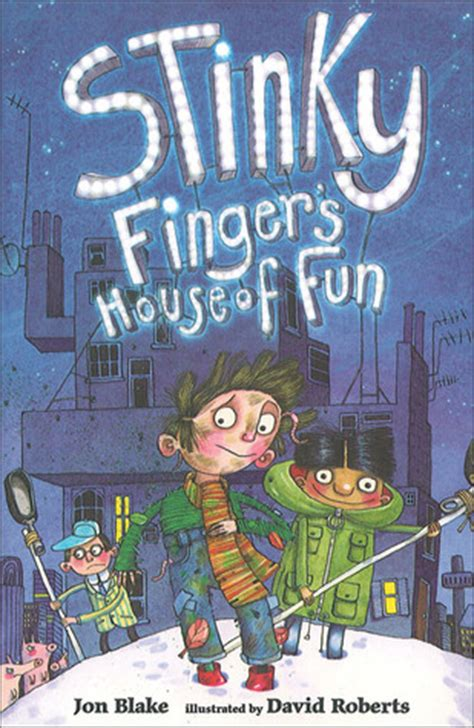 is where the home is books stinky finger s house of by jon reviews