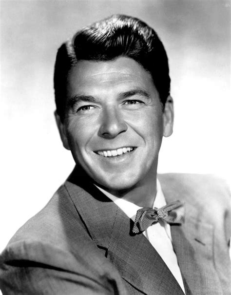 ronald hairstyle ronald reagan in the 1950s photograph by everett
