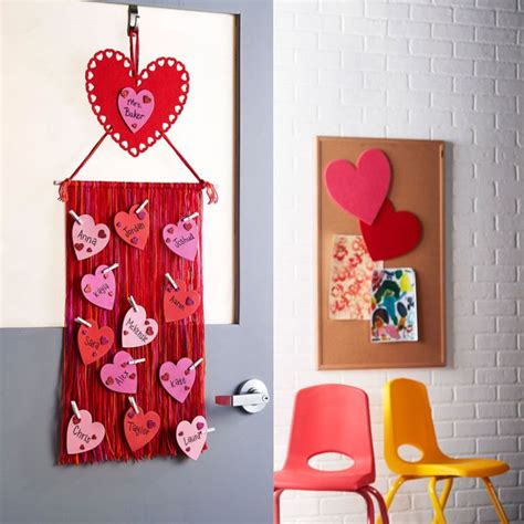 door decorations for valentines decorate for s day with this easy diy s