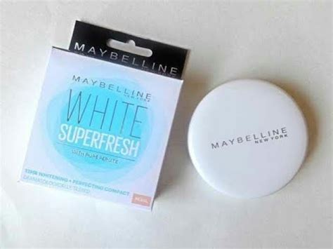 Bedak Maybelline Compact Powder maybelline white fresh compact powder review in