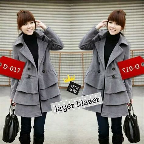 layer blazer wanita murah chiq collection baju korea murah