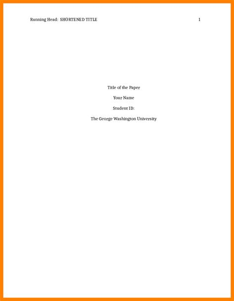 8 apa format title page exle accept rejection