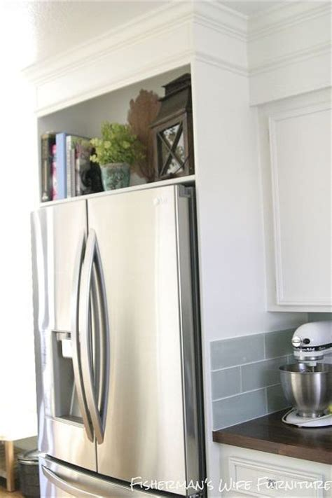 Shelf Above Refrigerator by 17 Best Images About Kitchen On Refrigerators Shelves And Clock
