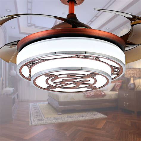 ceiling fans with hidden blades online get cheap red ceiling fan aliexpress com alibaba