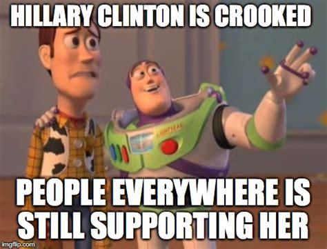 Hillary Clinton Meme Generator - crooked hillary imgflip