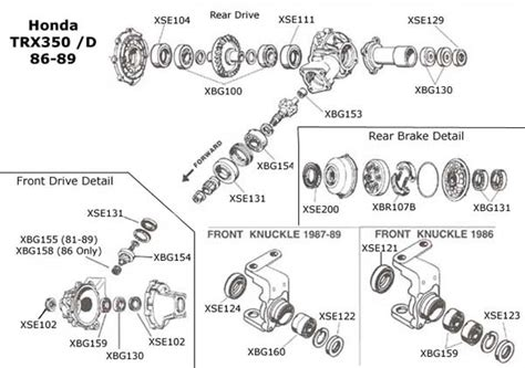 88 honda 350 foreman engine diagram wiring diagram and