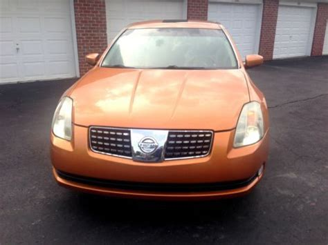 2004 nissan maxima bluetooth sell used 2004 nissan maxima se elite package nav cold