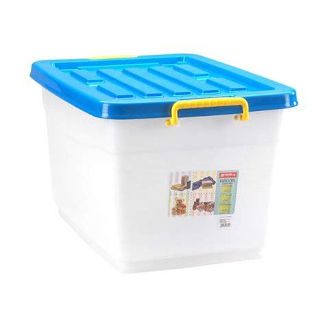 Variera Tempat Plastik Penyimpanan Plastik jual wagon container blue tempat penyimpanan serbaguna 50 liter harga