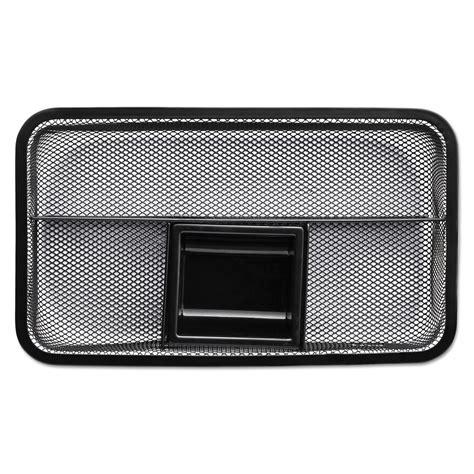 rolodex rol22121 drawer organizer metal mesh black