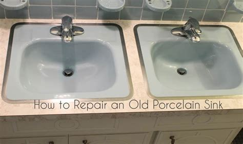 Fix Sink Gorgeous Shiny Things How To Repair A Porcelain Sink
