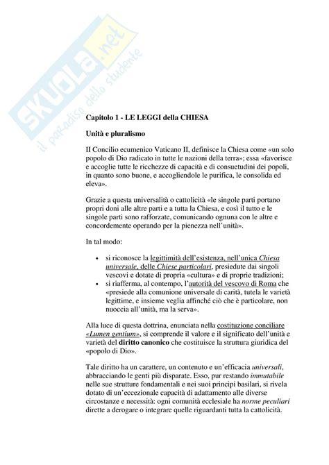 dispensa diritto canonico riassunto esame diritto canonico prof mantuano libro