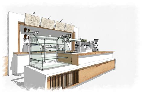 Resturant Floor Plans by Coffee Bar Sketchup With Amazing Restaurant Interior